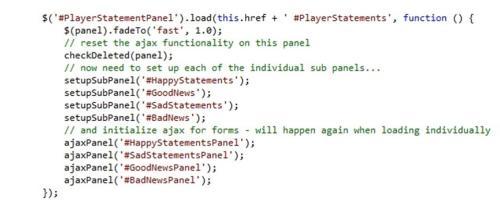 3rd code sample