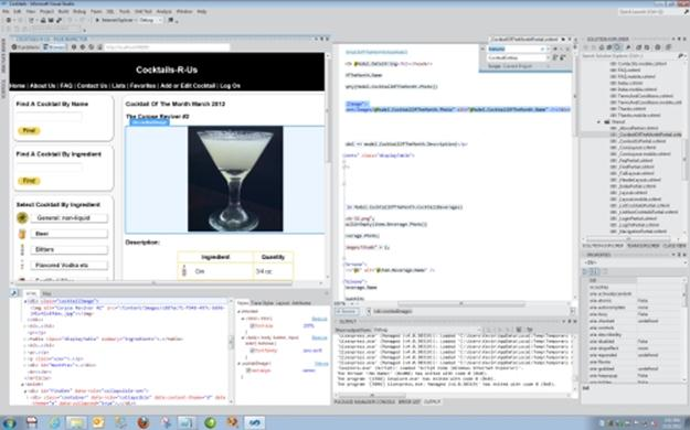 screenshot of page inspector