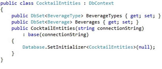 code first dbcontext
