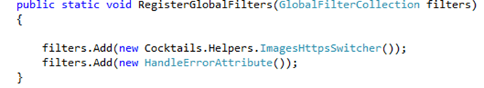 Code sample register global filters